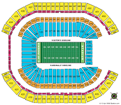 Cardinals Stadium Seating Chart Arizona Arizona Cardinals Stadium Seating Chart