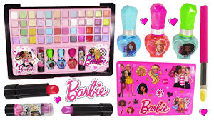 barbie beauty laptop decorate makeup eyeshadow lip gloss nail polish lipstick beauty tools