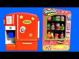 Shopkins Vending Machine Simple SHOPKINS So Cool Fridge Vending Machine Toy Storage Season48