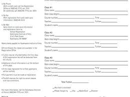 Paper Registration Form Template – Rootandheart.co