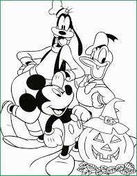 Disney Goofy Coloring Pages Admirably Disney Halloween Coloring