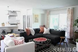 33 Creative Designs Dark Grey Couch Living Room Furniture Cute 37