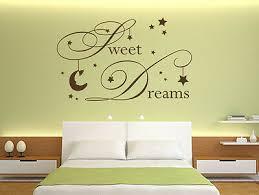 Wandtattoo Schlafzimmer Wandsticker Sprüche Sweet Dreams Nr7