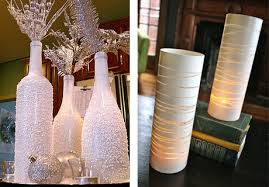 Decorative Wine Bottles Ideas Andrea Arch DIY Sparkly painted wine bottles 9