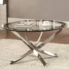 32 inspirational pictures of round chrome coffee table