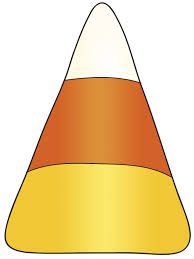 one piece of candy corn. Exellent One Candy Corn Clipart With One Piece Of