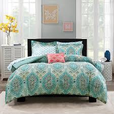 Paisley Bedroom Extraordinary Blue Paisley Bedding For Ordinary Bedroom Atzinecom