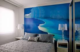 Apartment White Room Decorated With Water Color Painting And Enchanting Apartment Interior Design Painting