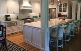 quartz countertops island