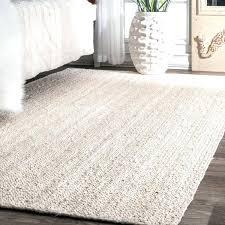 natural area rug home coopers handmade natural fiber braided reversible jute white area rug 8 natural natural area rug