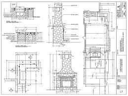 backyard fireplace plans