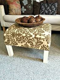 coffee table into ottoman ottoman coffee table how to turn a plain old end table coffee table into ottoman