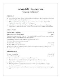 Microsoft Free Resume Templates Amazing Microsoft Word 24 Resume Template Lifespanlearn
