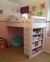 Bunk Bed Slide Add On Lovely Lovely Neighbors Diy Loft Bed For Little Girl  S Room
