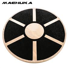 machuka 360 rotation balance board non slip wobble wooden loose leg twist boards for home yoga fitness equipment loose massage canada 2019 from enhengha