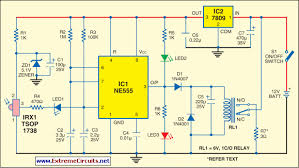 how to build infrared fire cracker igniter circuit diagram infrared fire cracker igniter circuit diagram
