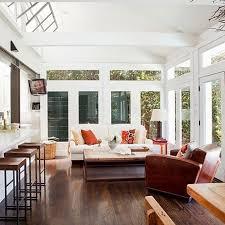Charming Modern Sunroom Exterior Throughout Home Sun Room Designs