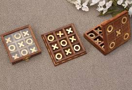 Wooden Naughts And Crosses Game Wholesale TicTacToe in Bulk Handmade Noughts Crosses Tick 95