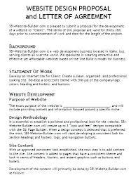 App Design Proposal Template Web Development Project Proposal
