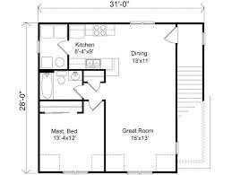 Beautiful 1 Bedroom House Floor Plans Wonderful 12 Feet, 1 Bedrooms, 1 Batrooms, 2  Parking Space, On 2 Levels, House Plan. »