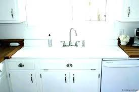 retro kitchen sink single bowl drainboard vine farmhouse