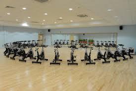 large gym mirror installation