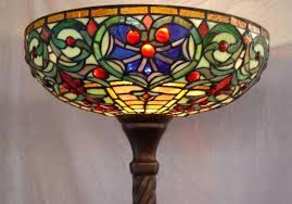 full size of torchiere floor lamp halogen bulb with metal shade dimmer style stained glass