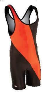 Matman Singlet Size Chart Matmen 8538 Chest Sweep Singlet Black Orange Size Xl
