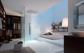 master bedroom with walk in closet and bath