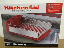 Modern New kitchenaid dish rack red ideas
