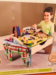 kidkraft ride around train set and table instructions kids