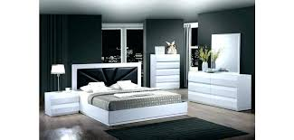 White Lacquer Bed White Lacquer Bedroom Furniture Intended For Bed ...