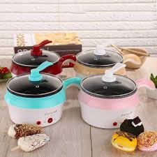 <b>Electric</b> Ceramic/Marble <b>Frying Pan Rice</b> Cooker | Shopee Philippines