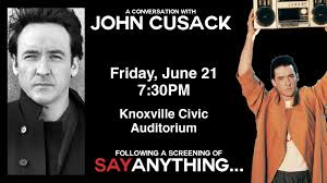 Knoxville Coliseum Seating Chart John Cusack Say Anything