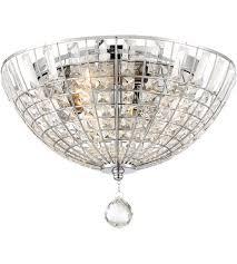 minka lavery 2347 77 braiden 3 light 16 inch chrome flush mount ceiling light