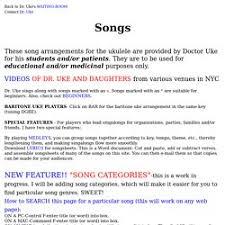 Ukulele Boogaloo Chord Chart Alligator Boogaloo Presents Ukulele Boogaloo Pearltrees