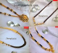 Black Beads Designs In Kalyan Jewellers Black Beads Mangalsutra Designs By Kalyan Jewellers Indian