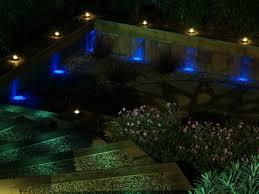 ideas for garden lighting. Outdoor Garden Lighting Ideas : Wonderful Modern Design With Blue Style For Inspiration E