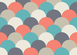 sherbet scales pattern vinyl flooring multicolour vinyl flooring