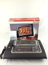 agreeable countertop electric grill and new open box krups fun countertop electric grill model 361 cooking
