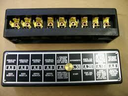 ferrari gt  365 9 fuse fuse box 40043014