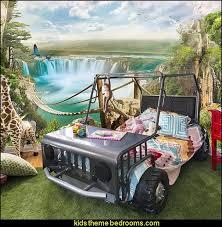 jungle themed furniture. Jungle Theme Bedrooms - Safari Themed Wild Animals Bedroom Ideas Furniture
