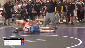 65 Kg Round Of 16 Derek Fields Arsenal Wrestling Vs Luke Odom IRTC - YouTube