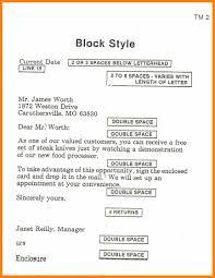 Block Form Business Letter Business Letter Sample Full Block Style New Block Format Business