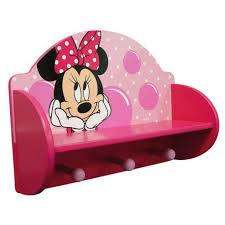 Toddler Coat Rack Disney Minnie Mouse Wooden Coat Rack Shelf Kids Room Pinterest 65