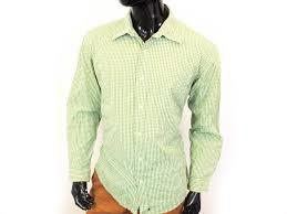 Details About D Gap Mens Shirt Tailored Checks Green Size L