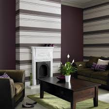 Wallpaper Decoration For Living Room Living Room Wallpaper Modern Striped Living Room Wallpaper Grey