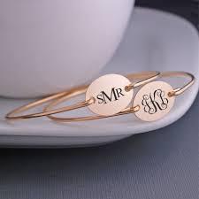 Georgie Designs Handcrafted Artisan Jewelry Monogram Bangle Bracelet Monograms In 2019 Monogram