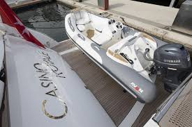 casino royale is a sunseeker motorboat for at  tender to casino royale