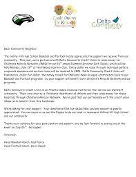 Best Photos Of Simple Club Sponsorship Letter Template Corporate
